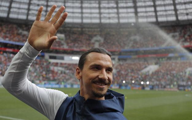 Zlatan Ibrahimović /Sergei Ilnitsky /PAP/EPA