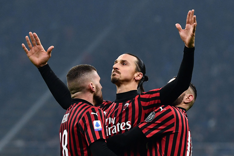 Zlatan Ibrahimović /MARCO BERTORELLO /East News