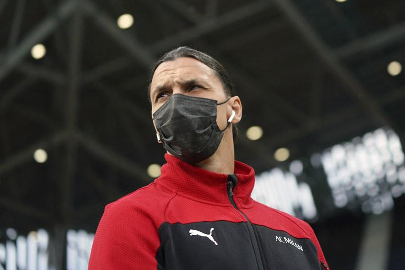Zlatan Ibrahimović /LaPresse/Associated Press/East News /East News