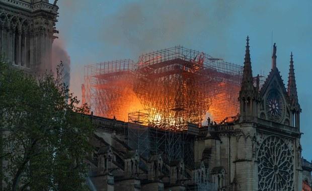 Źle ugaszony papieros lub awaria elektryczna przyczyną pożaru Notre-Dame