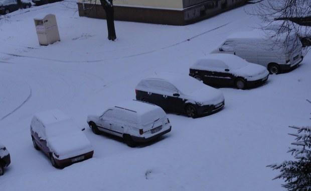 Złe warunki drogowe w Łodzi