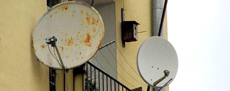 Źle zamontowanie anteny satelitarnej może nawet skończyć się nieszczęściem /SatKurier