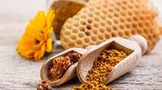 Złociste kulki prosto od pszczółki