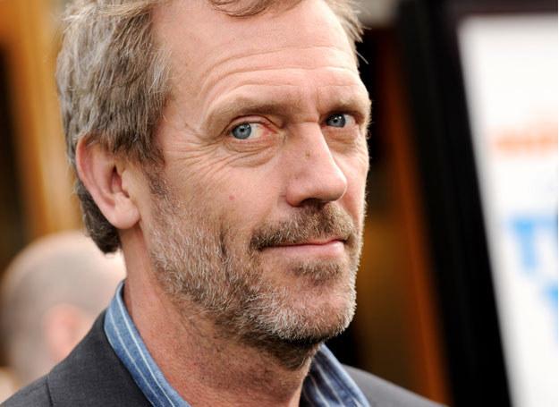 Złośliwy, ale zawsze trafia w sedno! Rolę aroganckiego doktorka gra Hugh Laurie /Getty Images/Flash Press Media