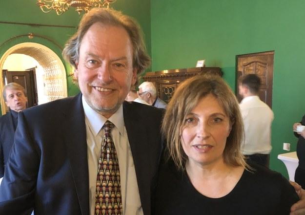 Złota Gruszka trafiła do Wojciecha Żurawskiego z agencji Reuters, a odznakę Honoris Gratia otrzymała Małgorzata Wosion-Czoba /RMF FM