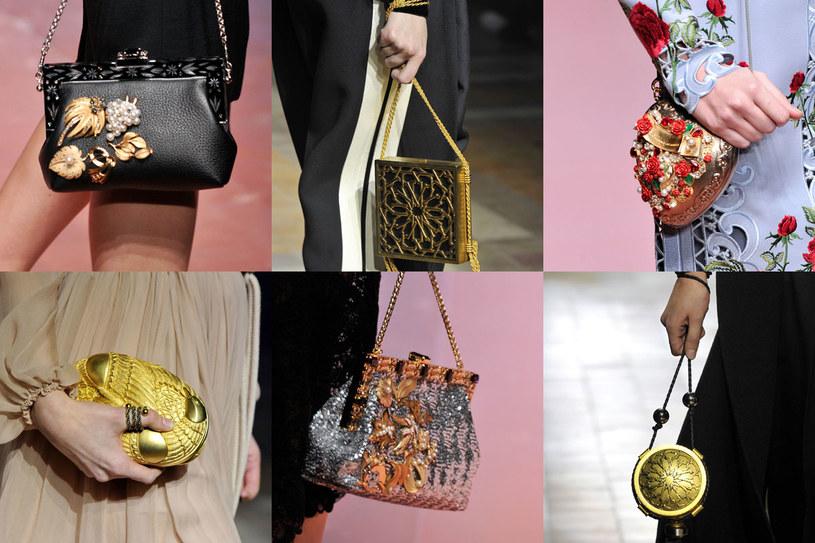 Złota lub srebrna klamerka to obowiązkowy element modnej torebki /East News/ Zeppelin