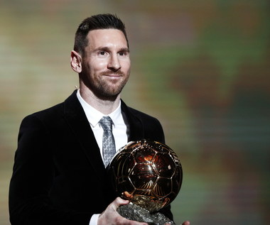 Złota Piłka. Lionel Messi wygrał po raz szósty