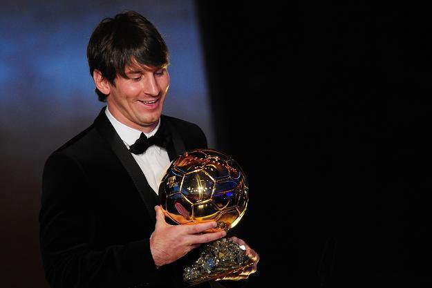 Złota Piłka trafiła do rąk Lionela Messiego /AFP