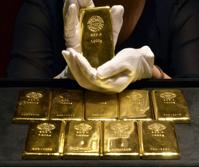 Złota w Narodowym Banku Polskim jest coraz więcej (zdj. ilustracyjne) /AFP