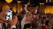 """Złote Globy 2015: Kolejny """"photobomb"""" Benedicta Cumberbatcha"""