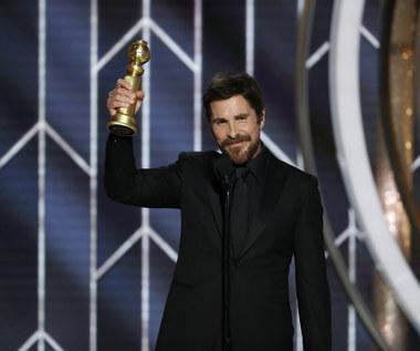 """Złote Globy 2019: Christian Bale'a szokuje. """"Dziękuję szatanowi"""""""