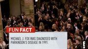 Złote Globy: Zażartowali z choroby Michaela J.Foxa