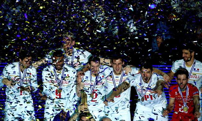Złote ME nie dało Francuzom kwalifikacji do przyszłorocznych igrzysk olimpijskich /VASSIL DONEV /PAP/EPA