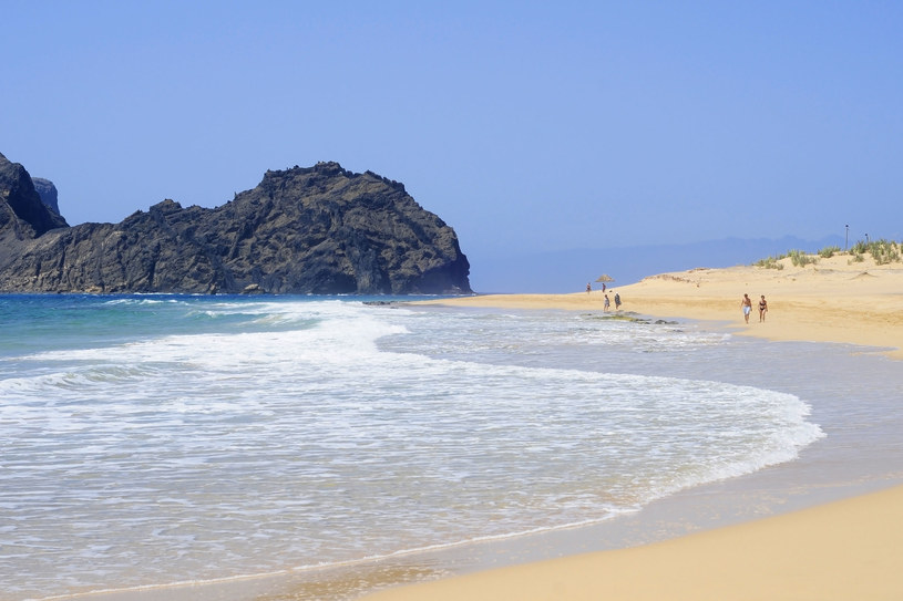 Złote plaże na Porto Santo /123RF/PICSEL