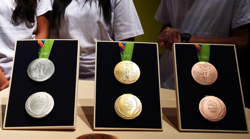 Złote, srebrne i brązowe medale igrzysk w Rio /AFP