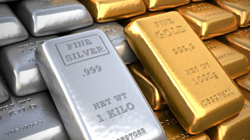 Złoto i srebro to doskonałe aktywa w kryzysowych czasach /123RF/PICSEL