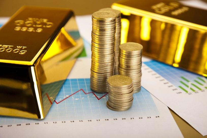 Złoto i srebro to wiodące aktywa w 2020 roku /123RF/PICSEL