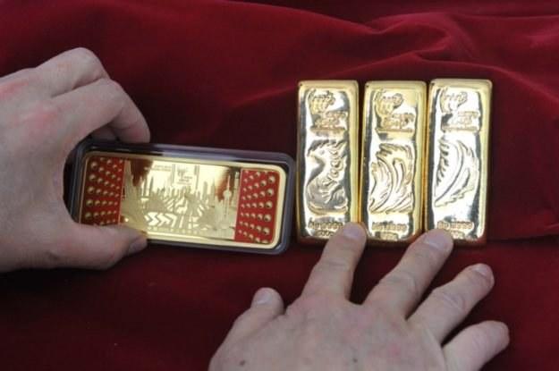 Złoto towarzyszyło  ludzkości od setek lat - dlaczego nie miałoby towarzyszyć także technologiom? /AFP