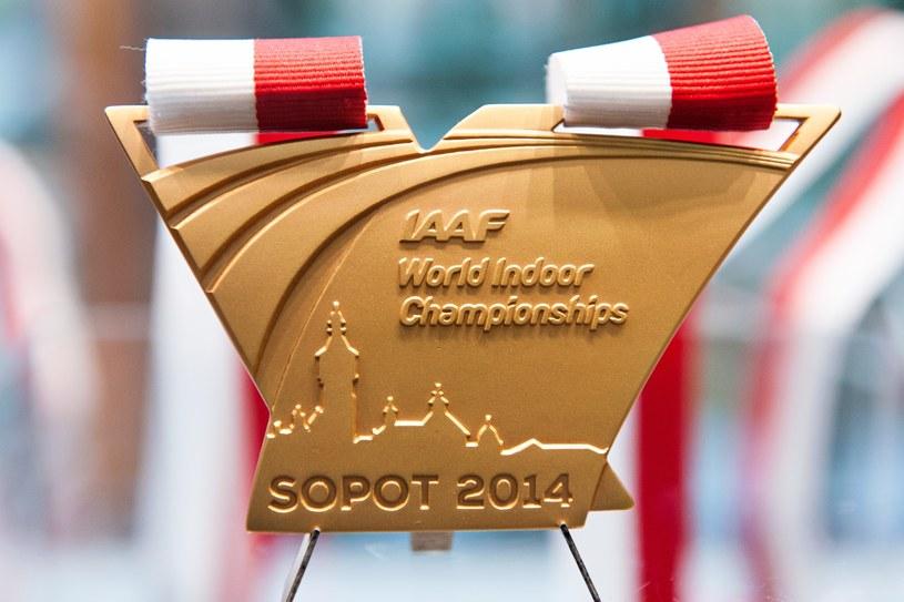 Złoty medal halowych mistrzostw świata w Sopocie /Łukasz Dejnarowicz /Agencja FORUM