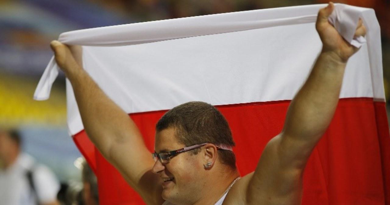 Złoty medal Pawła Fajdka w rzucie młotem