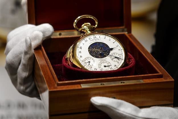 Złoty Patek Philippe za 21,3 mln dolarów /AFP