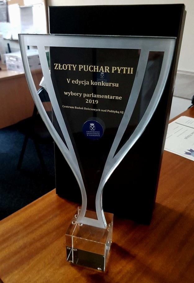 Złoty Puchar Pytii /CBIP UJ /Materiały prasowe