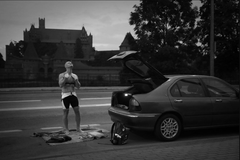 Zmagania triathlonistów na dystansie Ironman. Gdańsk, Gdynia, Malbork (Polska), lipiec-wrzesień 2016 r. /Mirosław Pieślak/ Gazeta Codzienna Fakt /