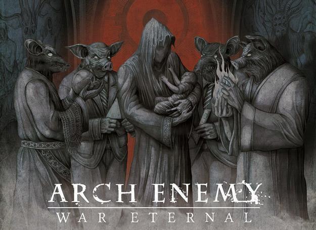 Zmaina wokalistki w Arch Enemy okazała się mało istotna /