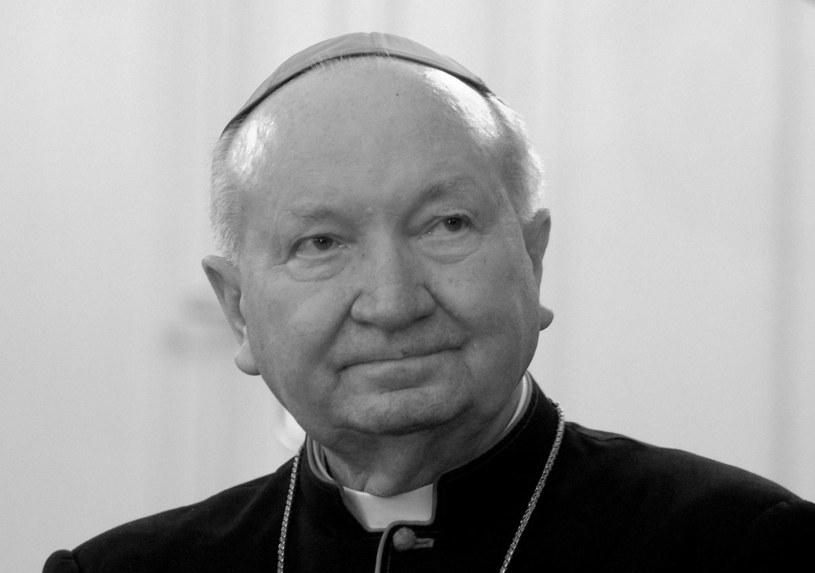 Zmarł arcybiskup senior archidiecezji lwowskiej kardynał Marian Jaworski /Marek Lasyk  /Reporter