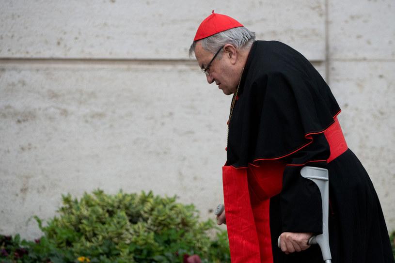 Zmarł kardynał Karl Lehmann /JOHANNES EISELE /AFP
