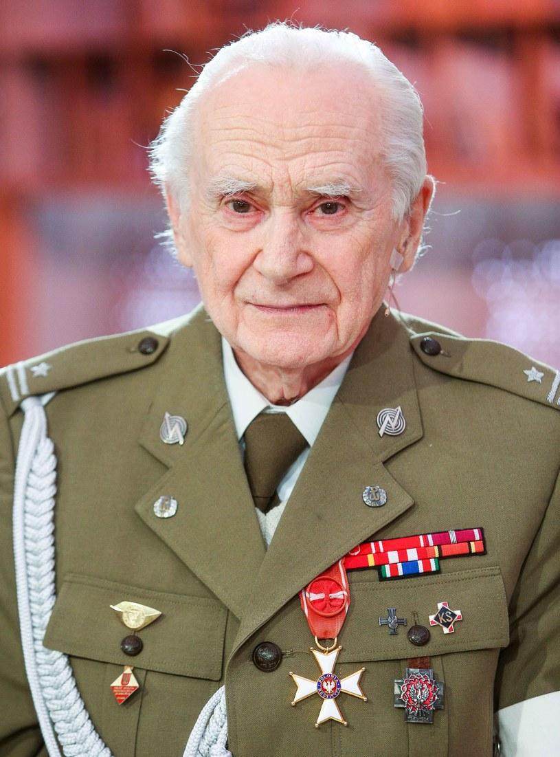 """Zmarł major Wacław Sikorski """"Bocian"""", żołnierz AK, powstaniec warszawski /Agencja FORUM"""