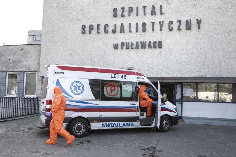 Zmarł pacjent z Puław; zdj. ilustracyjne / Jacek Szydlowski  /Agencja FORUM