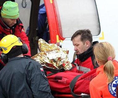 Zmarł turysta porwany przez lawinę w Tatrach