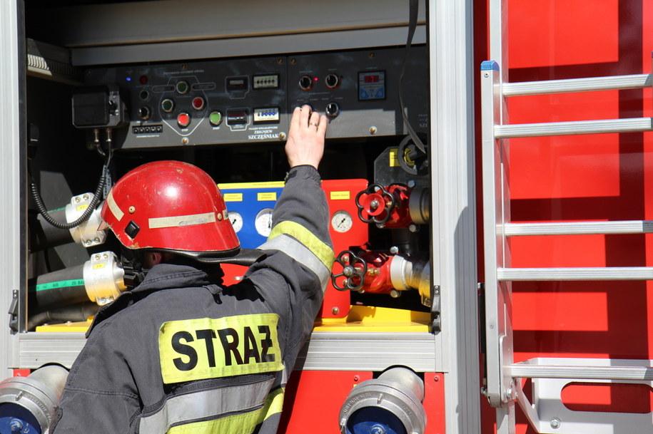Zmarła 5-latka zaczadzona po pożarze mieszkania w Dąbrowie Tarnowskiej /Piotr Bułakowski /Archiwum RMF FM