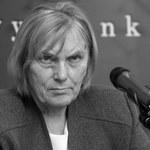 Zmarła była minister finansów Halina Wasilewska-Trenkner