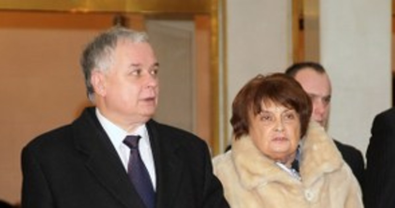 Zmarła Jadwiga Kaczyńska. Miała 87 lat