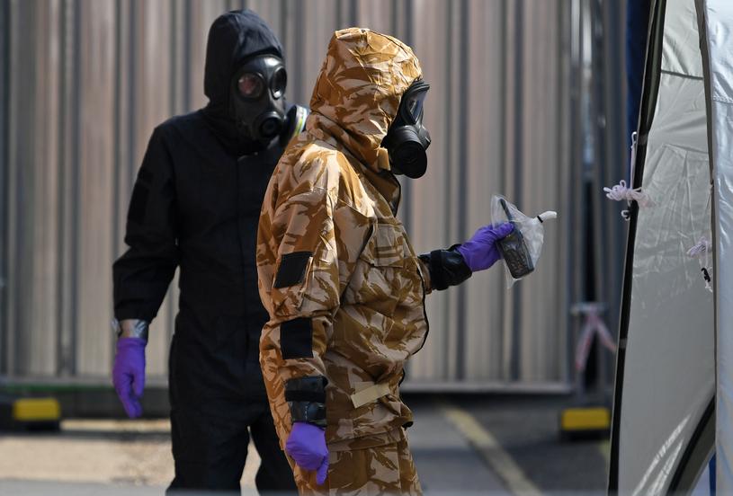 Zmarła kobieta otruta nowiczokiem w Amesbury /CHRIS J RATCLIFFE /AFP