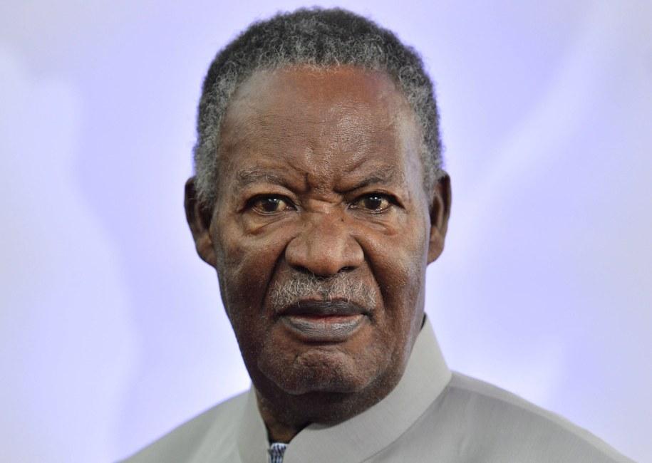 "Zmarły prezydent Michael ""Król Kobra"" Sata /STEPHANIE LECOCQ  /PAP/EPA"