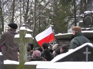 Zmarły spoczął w rodzinnym grobowcu na Starych Powązakch /INTERIA.PL