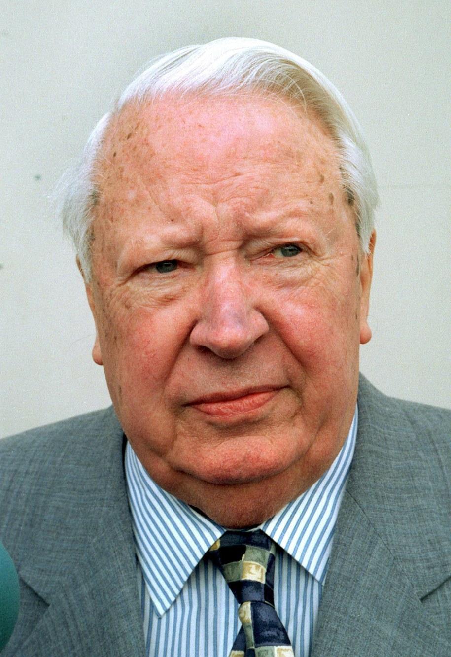 Zmarły w 2005 roku Heath był premierem w latach 1970-1974 /STAFF /PAP/EPA