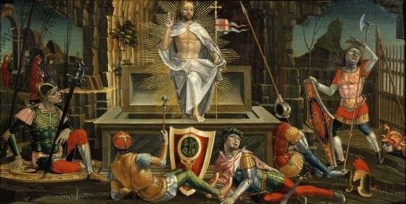 """Zmartwychwstanie"", ołtarz z San Martino, Bernardino Butione, kolegiata San Martino Treviglio /Agencja FORUM"