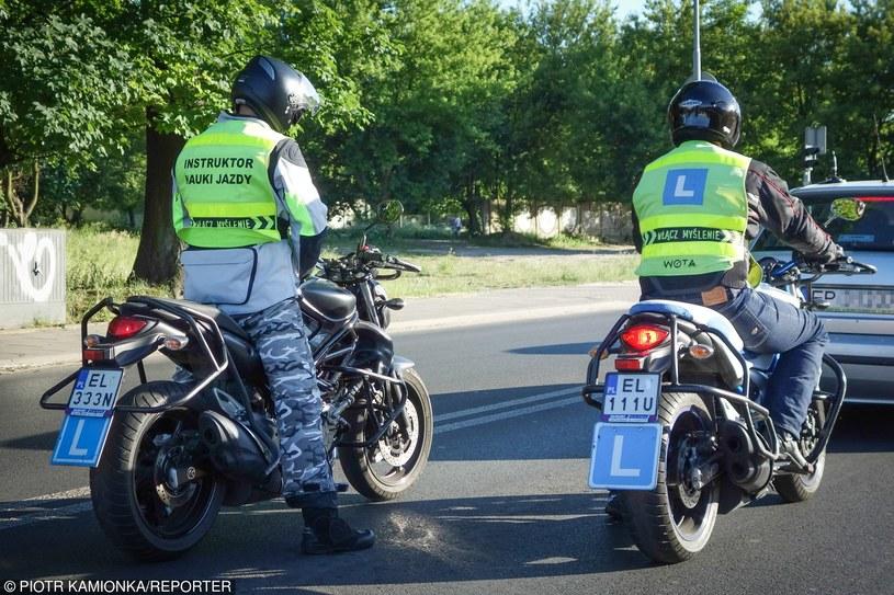 Zmiana miałaby dotyczyć motorowerów, ale nie motocykli /Piotr Kamionka /Reporter