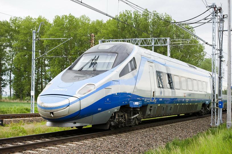 Zmiany dotyczą m.in. połączeń PKP Intercity obsługiwanych składami Pendolino /Stanislaw Bielski/REPORTER /East News