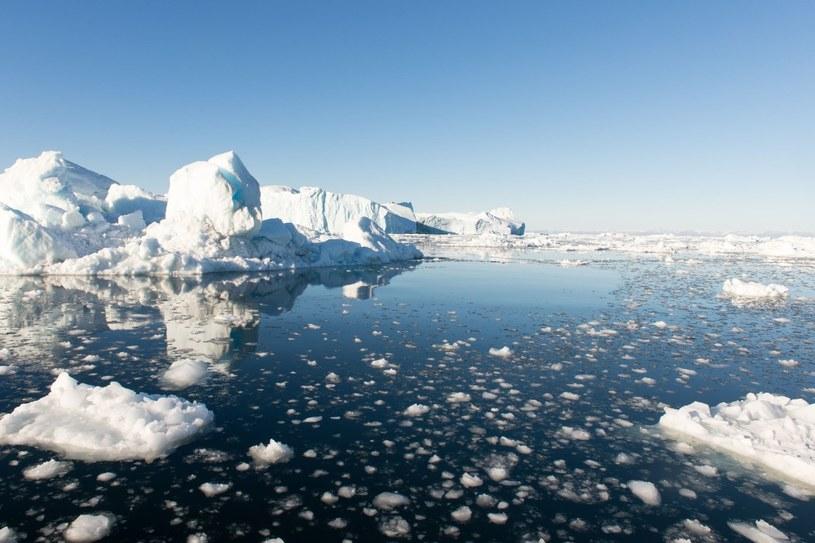 Zmiany klimatu przyczyniają się m.in. do topnienia polarnych czap lodowych /123RF/PICSEL /123RF/PICSEL