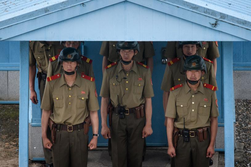 Zmiany na granicy Korei Północnej i Południowej /ED Jones /AFP