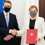 Zmiany w rządzie. Premier Mateusz Morawiecki wręczył nominacje