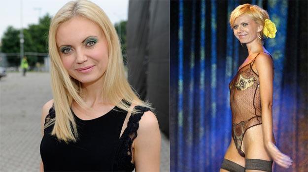 Zmieniła się? Olga Borys dzisiaj (L) i 10 lat temu (P) - fot. AKPA / Piotr Fotek /Reporter