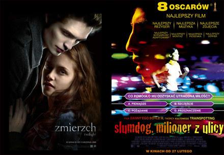 """""""Zmierzch"""" i """"Slumdog"""" otrzymały najwięcej noiminacji do nagród MTV /materiały dystrybutora"""
