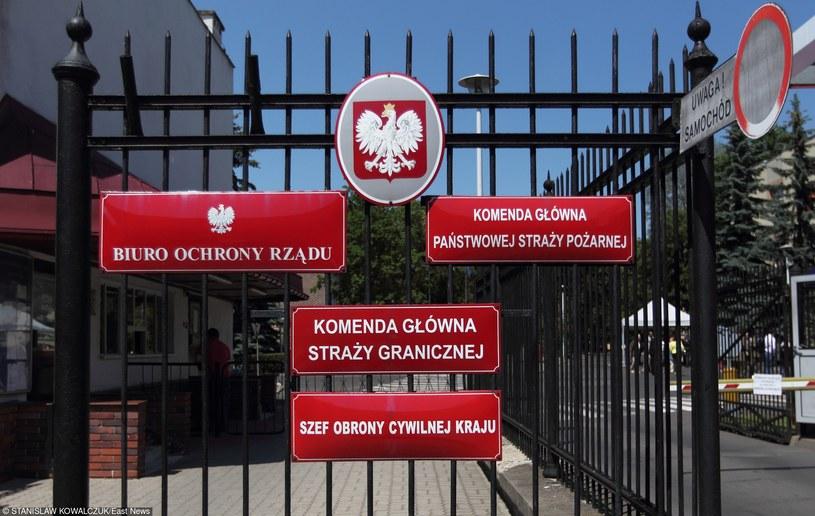 Zmniejszenie - z 725 do 641 - liczby stanowisk oficerskich w Biurze Ochrony Rządu przewiduje projekt zmiany rozporządzenia szefa MSW /Stanisław Kowalczuk /East News
