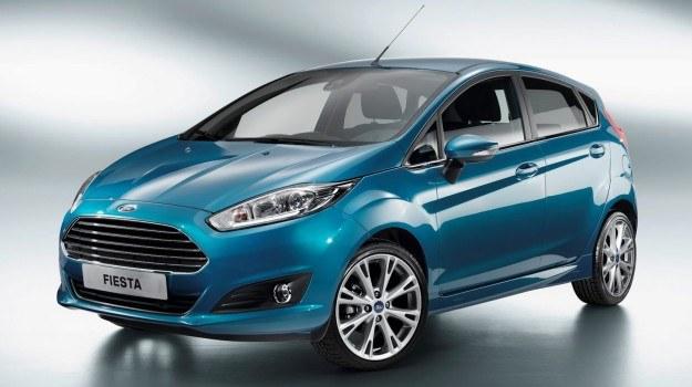 Zmodernizowana Fiesta zadebiutuje w polskich salonach pod koniec br. /Ford